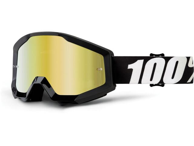 100% Strata goggles zwart